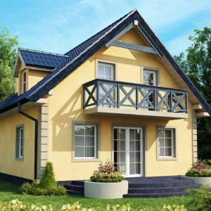 Фото 1 - Z1 - Очаровательный и практичный дом с мансардой в традиционном стиле.
