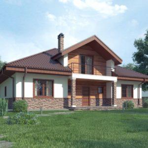 Фото 13 - Z10 stu bk - Комфортный дом с открытой мансардой в традиционном стиле (версия проекта Z10).