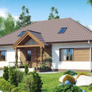 Фото 23 - Z106 - Проект традиционного дома с возможностью адаптации чердачного помещения.