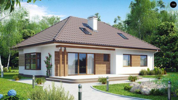 Фото 2 - Z106 - Проект традиционного дома с возможностью адаптации чердачного помещения.