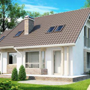 Фото 24 - Z107 - Проект стильного выгодного и функционального дома.