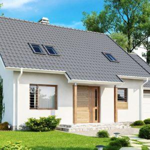 Фото 25 - Z108 - Проект функционального и удобного дома с комнатой над гаражом.