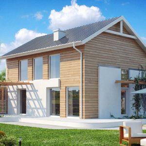 Фото 3 - Z115 - Выгодный в строительстве и эксплуатации двухэтажный дом простой формы.