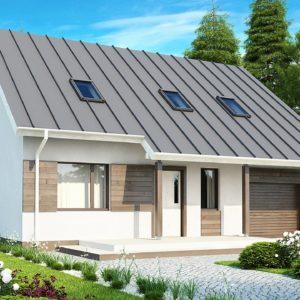 Фото 27 - Z119 - Практичный аккуратный дом с мансардой, со встроенным гаражом для одной машины.