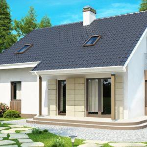 Фото 29 - Z120 - Выгодный в строительстве и эксплуатации дом с дополнительной спальней на первом этаже.