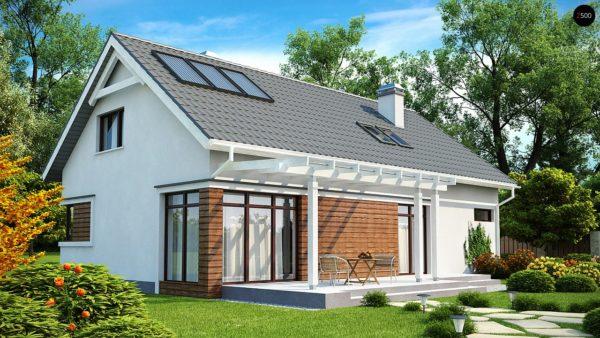 Фото 2 - Z122 - Дом со встроенным гаражом, красивым мансардным окном и вторым светом над гостиной.