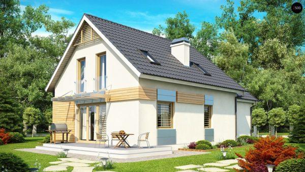 Фото 2 - Z126 - Традиционный практичный  дом с современными элементами архитектуры.