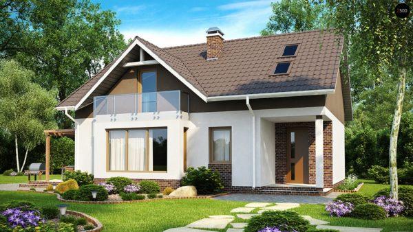 Фото 1 - Z128 - Функциональный и уютный дом с дневной зоной, расположенной со стороны входа.