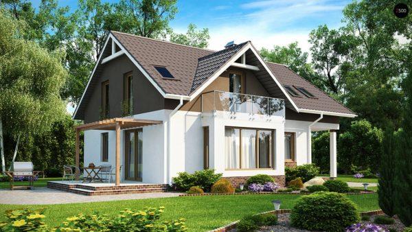 Фото 2 - Z128 - Функциональный и уютный дом с дневной зоной, расположенной со стороны входа.