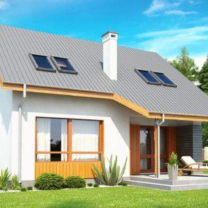 Фото 10 - Z146 - Проект небольшого практичного дома, выгодного в строительстве и эксплуатации.