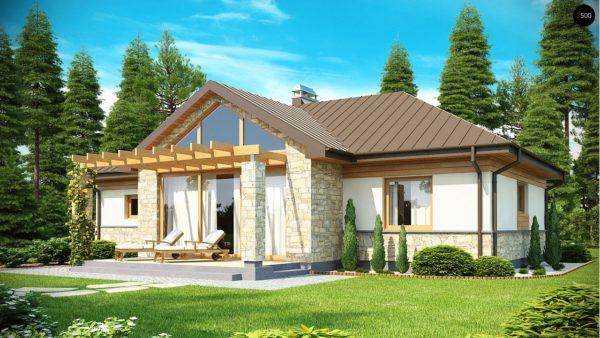 Фото 1 - Z151 - Функциональный компактный дом интересного дизайна.