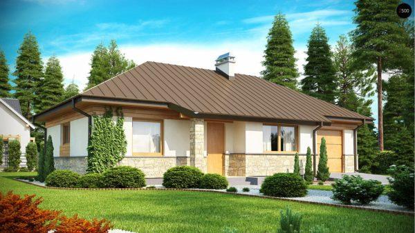 Фото 2 - Z151 - Функциональный компактный дом интересного дизайна.