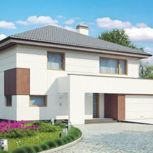 Фото 7 - Z156 - Элегантный комфортабельный двухэтажный дом с современными элементами архитектуры.