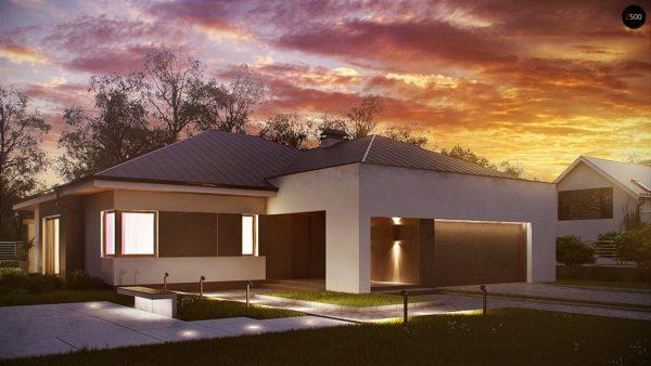 Фото 1 - Z158 - Комфортный элегантный дом с тремя спальнями и выступающим фронтальным гаражом.