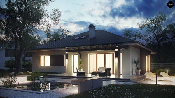 Фото 2 - Z158 - Комфортный элегантный дом с тремя спальнями и выступающим фронтальным гаражом.