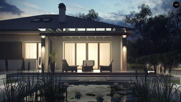 Фото 3 - Z158 - Комфортный элегантный дом с тремя спальнями и выступающим фронтальным гаражом.