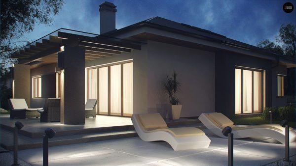 Фото 4 - Z158 - Комфортный элегантный дом с тремя спальнями и выступающим фронтальным гаражом.