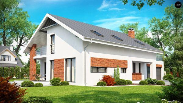 Фото 1 - Z161 - Просторный и комфортный дом со встроенным гаражом и двумя спальнями на первом этаже.