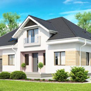 Фото 14 - Z171 - Комфортный стильный дом с большим гаражом для двух автомобилей и дополнительной комнатой над ним.