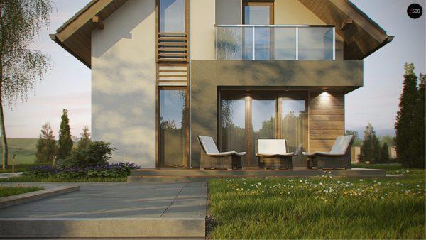 Фото 4 - Z174 - Компактный и удобный дом традиционной формы, подходящий, также, для узкого участка.