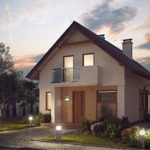 Фото 18 - Z177 - Аккуратный, практичный дом, также для узкого участка.