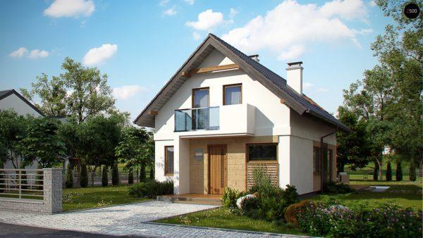 Фото 3 - Z177 - Аккуратный, практичный дом, также для узкого участка.