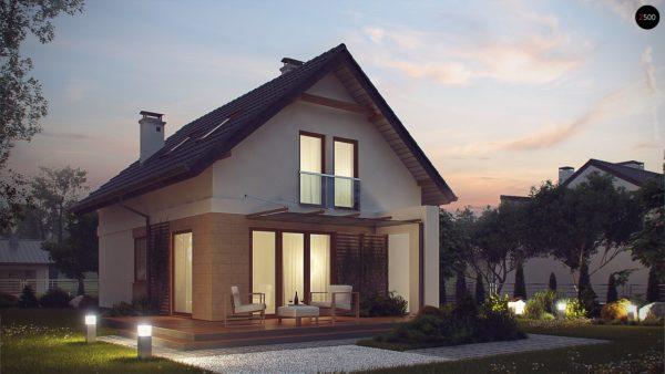 Фото 4 - Z177 - Аккуратный, практичный дом, также для узкого участка.