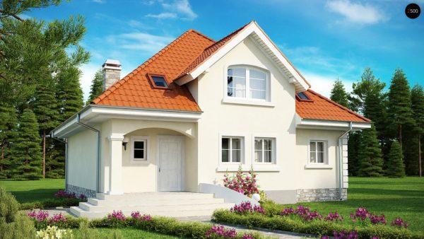 Фото 2 - Z18 - Элегантный классический дом с изящными мансардными окнами и балконами.