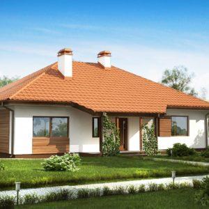 Фото 5 - Z185 - Традиционный одноэтажный дом с крытой террасой и оранжереей.