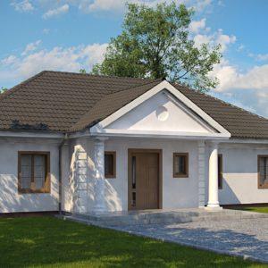 Фото 7 - Z2 L + w - Зеркальный вариант увеличенного дома Z2.