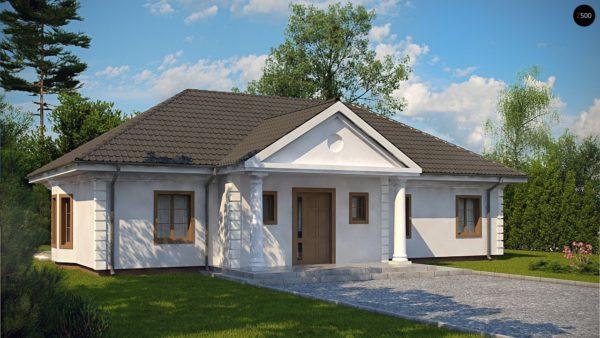Фото 1 - Z2 L + w - Зеркальный вариант увеличенного дома Z2.