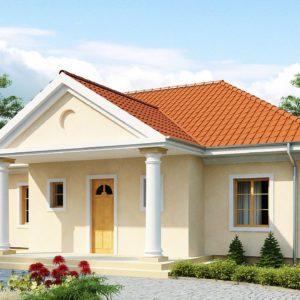 Фото 11 - Z2 - Проект в стиле дворянской усадьбы с возможностью обустройства чердачного помещения.