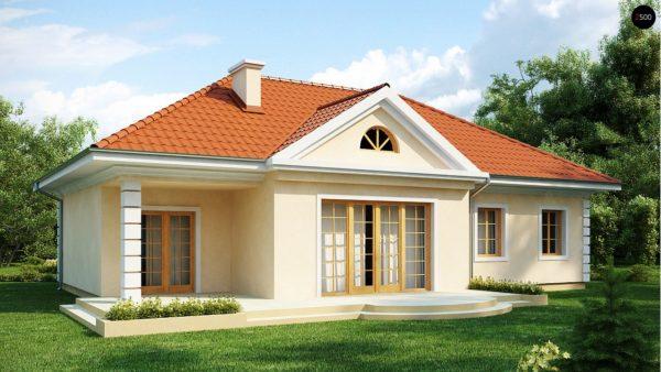 Фото 2 - Z2 - Проект в стиле дворянской усадьбы с возможностью обустройства чердачного помещения.