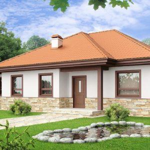 Фото 8 - Z23 - Компактный и удобный одноэтажный дом с многоскатной крышей.