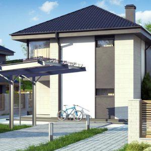 Фото 10 - Z276 - Современный двухэтажный дом с практичной планировкой.