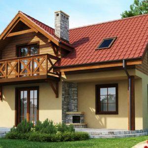 Фото 7 - Z3 - Компактный дом с мансардой с камином на террасе.