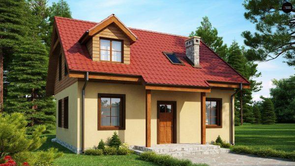 Фото 2 - Z3 - Компактный дом с мансардой с камином на террасе.