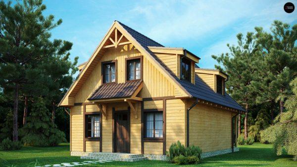 Фото 2 - Z30 - Компактный дом с мансардой, с крытой террасой и внешним камином.