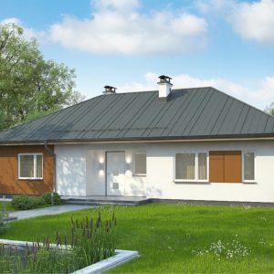 Фото 19 - Z307 - Комфортный одноэтажный дом в традиционном стиле.