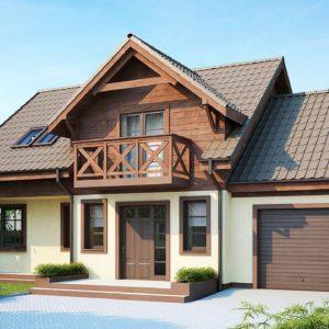 Фото 17 - Z33 - Практичный дом с гаражом, с красивым мансардным окном и боковой террасой.