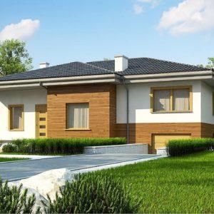 Фото 18 - Z337 - Красивый и комфортный  однэтажный дом с цоколем.