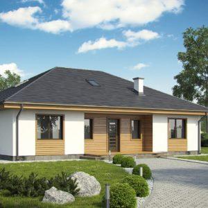 Фото 18 - Z35 bG - Комфортный одноэтажный дом традиционного дизайна.