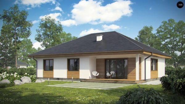 Фото 2 - Z35 bG - Комфортный одноэтажный дом традиционного дизайна.