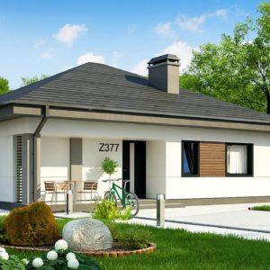 Фото 21 - Z377 - Небольшой домик с удобной планировкой.
