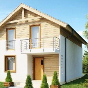 Фото 21 - Z38 V1 - Новый вариант проекта Z38 - уютного двухэтажного дома.