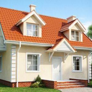 Фото 10 - Z4 - Компактный дом в традиционном стиле с двускатной крышей и красивыми мансардными окнами.