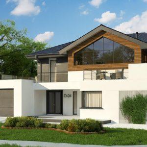 Фото 25 - Z404 - Двухэтажный дом с гаражом на два автомобиля и двумя спальнями на первом этаже.
