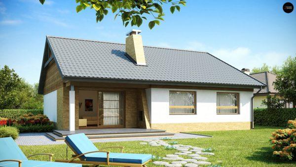 Фото 1 - Z41 - Выгодный небольшой одноэтажный дом с тремя спальнями.