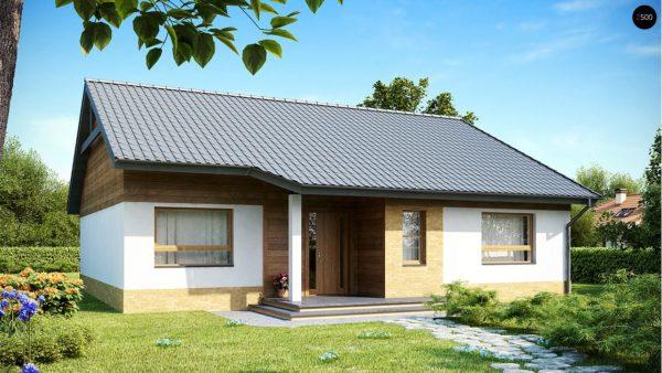 Фото 2 - Z41 - Выгодный небольшой одноэтажный дом с тремя спальнями.
