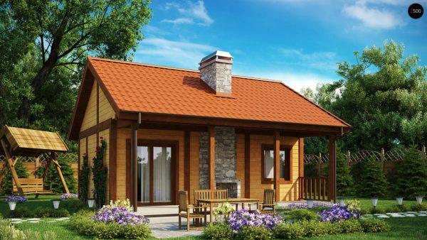 Фото 1 - Z42 - Маленький одноэтажный дом, оснащенный всем необходимым для круглогодичного проживания.